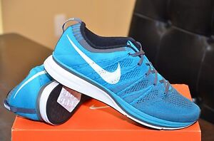 big sale d41b6 9513b Image is loading NIKE-FLYKNIT-TRAINER-MENS-NEO-TURQUOISE-DARK-GREY-