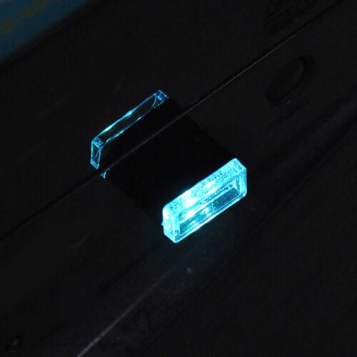 USB LED Mini Car Interior Light Strip Flexible Neon Atmosphere Tube Neon Lamp CL