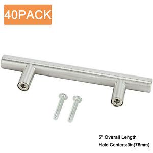40Pack-Stainless-Steel-Kitchen-Cabinet-Drawer-Door-Handles-T-Pull-bar-Hardware