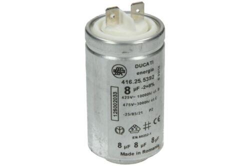 zdc5350w Tumble Dryer Capacitor 8uf zdc47209w Genuine ZANUSSI zdc47204w