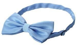 Herren-accessoires Gifts For Men Pretied Adjustable Mens Checked Check Polyester Bow Tie Sky Blue Um Der Bequemlichkeit Des Volkes Zu Entsprechen