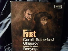 C. Gounod - Faust / Bonynge    4 LP-Box