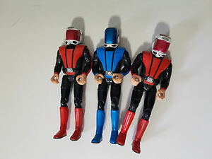 CAPTAIN-SCARLET-FIGURINES-TOYS-BLUE-AND-RED-POSABLE-AE-GAP