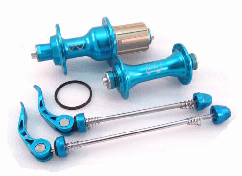 Axial RA2 Road Bike Hub Set 28 H 405 G Shimano 11spd-Bleu
