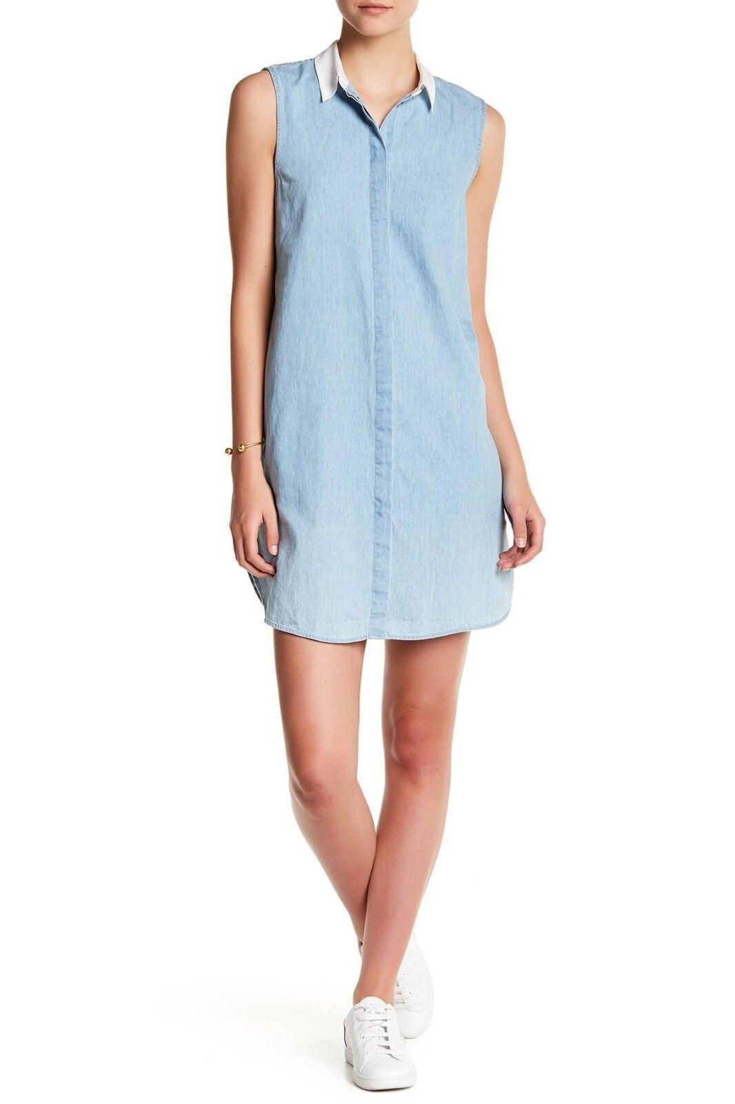 NEW Equipment bluee Lanie Sleeveless Dress - Size L  218