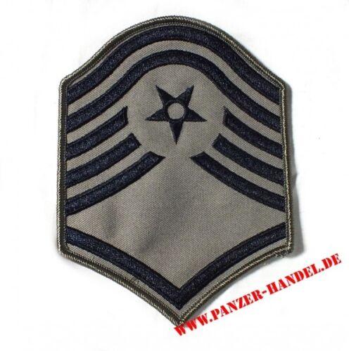 US Air Force Master Sergant Aufnäher Abzeichen ABU Uniform