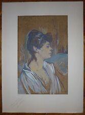Lautrec Henri de Toulouse Lithographie sur velin Montmartre Moulin Rouge