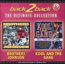FREE US SHIP. on ANY 2 CDs! NEW CD Brothers Johnson, Kool & The Gan: Back 2 Back