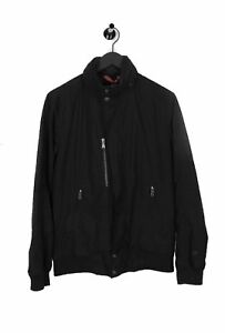 Peak-Performance-Airwaves-Hidden-Capucha-Negro-Hombre-Chaqueta-L-Talla