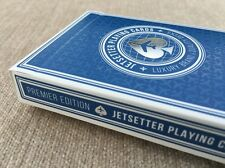 $LOW$ Jetsetter Rare Premier Edition Luxury Limited Custom Poker Playing Cards.
