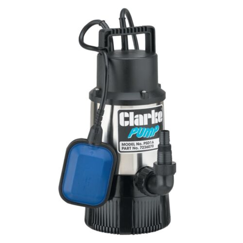 Clarke PSD1A en acier inoxydable Eau Propre Pompe submersible 7236070