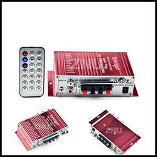 2CH Audio Hi-Fi Power Car Stereo Amplifier  FM USB SD MP3 iPod Controller US ZNU