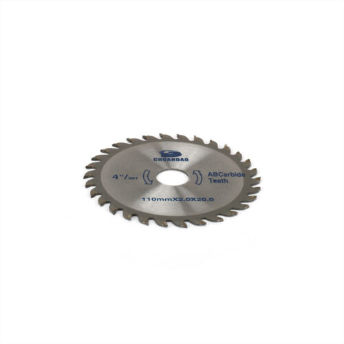 """4/"""" Carbide Circular Saw Blade Cutting Disc Cutter for Wood Woodworking 4//5/"""" Bore"""