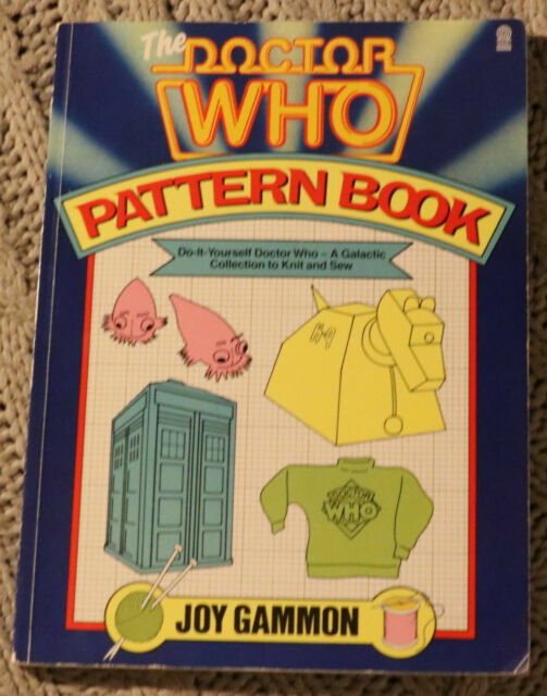 Doctor Who Pattern Book 1st Edition 1984 Paperback