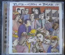 The Ruts Grin & Bear It CD+Bonus Tracks NEW SEALED Punk In A Rut/H Eyes+