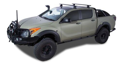 2 Bar Rhino Roof Rack for MAZDA BT50 4dr Ute Dual Cab 11//11 On JA2533