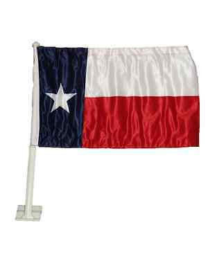 """12x18 State of Texas Double Sided Car Window Vehicle 12/""""x18/"""" Flag"""