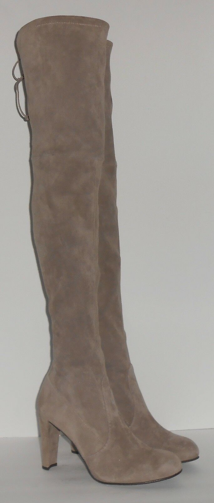Stuart Weitzman Highland Over the knee Suede Suede Suede Taupe Size 11 88c648