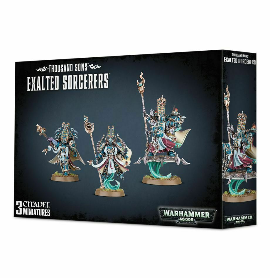 giocos lavoronegozio Warhammer  40K Exalted Sorcerers Thouse Sons Chaos spazio Marines  acquisti online