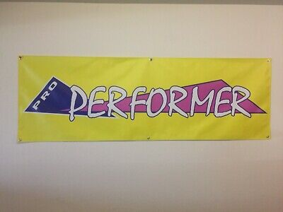 old school BMX  GT pro PERFORMER hb  banner 2FT X 2FT yellow