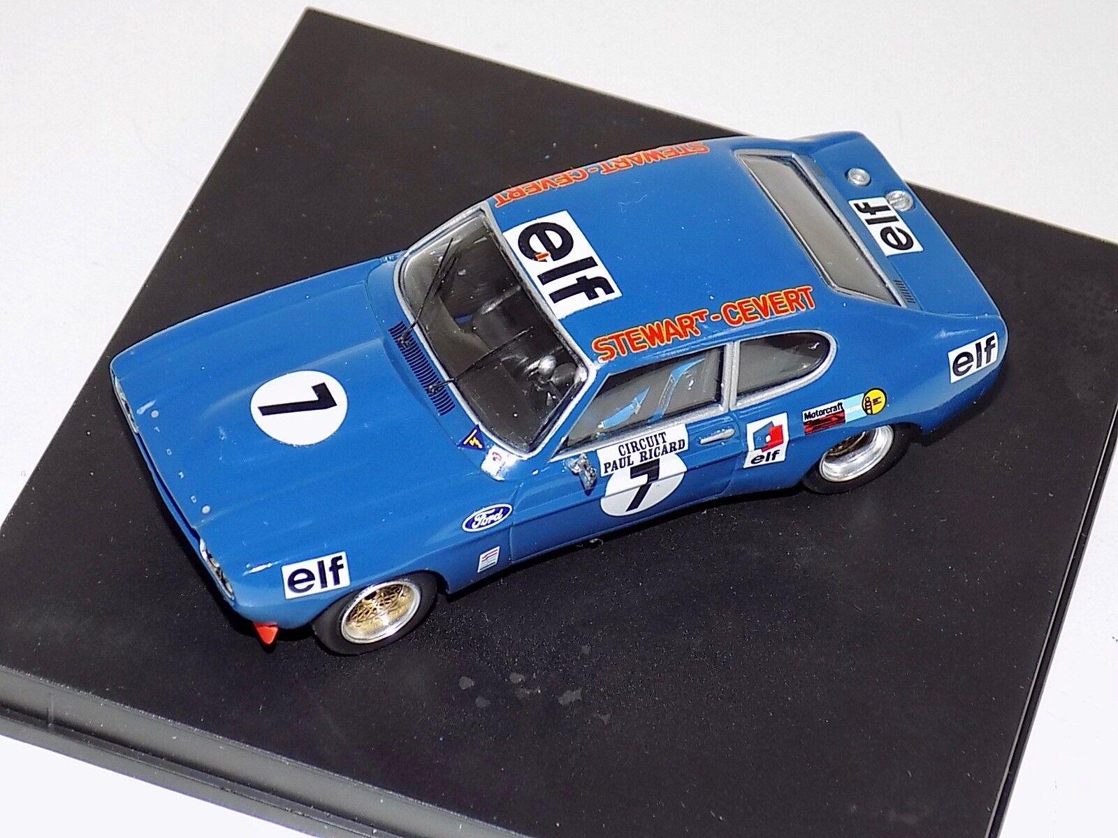 1 43 Trofeu Ford Capri 2600 RS 2nd 6h Paul Ricard 72 car