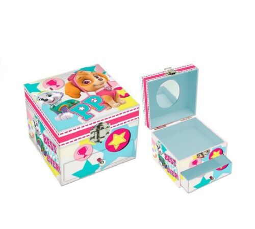 Paw Patrol Cardboard Jewellery Box with Drawer and Mirror