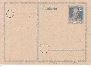 Rationnel L'allemagne Henr V Stephan 12pfg Postal Stationary Carte Postale Inutilisés Très Bon état-afficher Le Titre D'origine