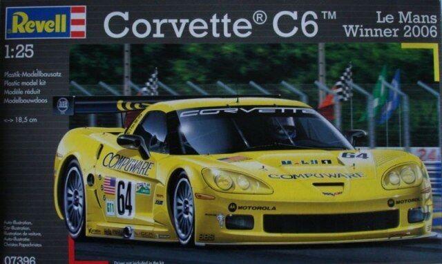 07396 Revell Corvette C6-R Le Mans Winner 2006