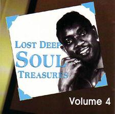 V.A. - LOST DEEP SOUL TREASURES Volume 4 - Rare Soul CD
