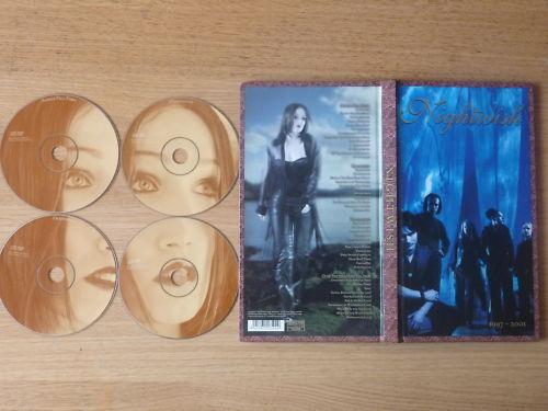 Nightwish - 1997-2001 (4 CD Box Set 2007)