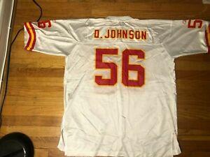 Vg Reebok DERRICK JOHNSON #56 Kansas City Chiefs Jersey Mens Adult ...