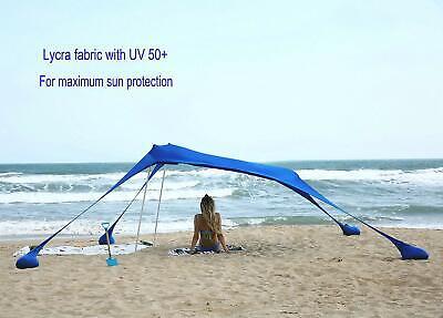 Ammsun Beach Tent With Sandbag Anchors Portable Canopy
