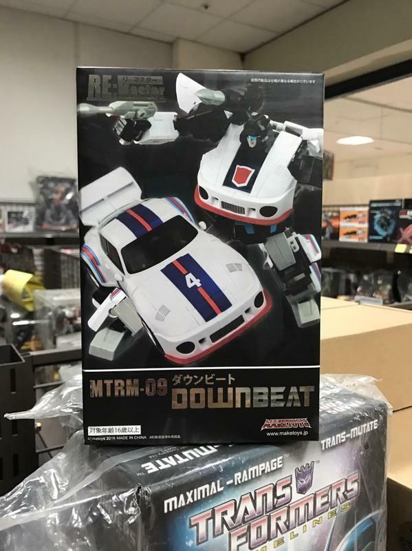 Transformers Maketoys Re Masterpiece  MTRM-09 Jazz Downbeat NEW