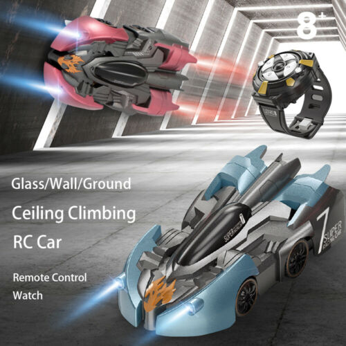 Wall Climbing RC Car Electric 360 Rotating Stunt Remote Control Car Antigravity