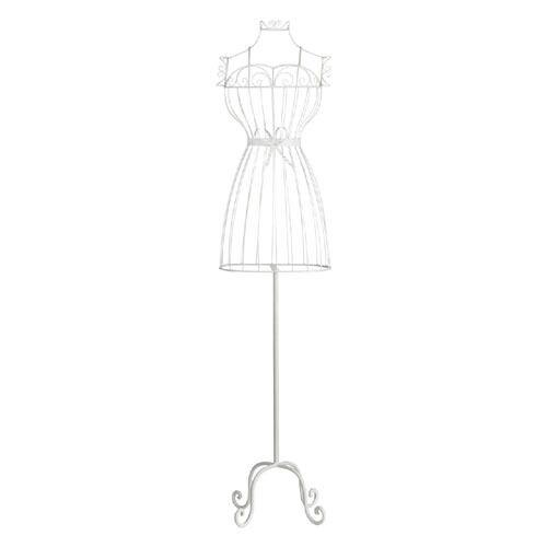 Dressmakers Dummy Huge Wire White Antique 150cm Bust Mannequin Manikin Torso New