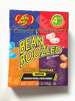 NEW 4TH EDITION  JELLY BELLY BEANBOOZLED JELLY BEANS - Extreme Candy - Gag Gift