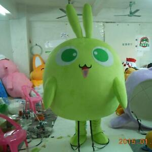 Details about  /Green Dragon Mascot Costume Suit Cosplay Party Game Dress Outfit Halloween Adult
