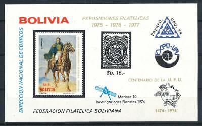 Rabatte Verkauf 558138 Bolivien Bl.55** Raumfahrt Upu Etc..