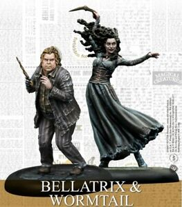 Bellatrix-amp-Queudver-Harry-Potter-Miniatures-Game-Expansion-chevaliers-Modeles