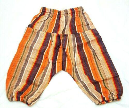 Fairtrade Children/'s Alibaba Harem Trousers Hippy Aladdin Festival Clothes Baby