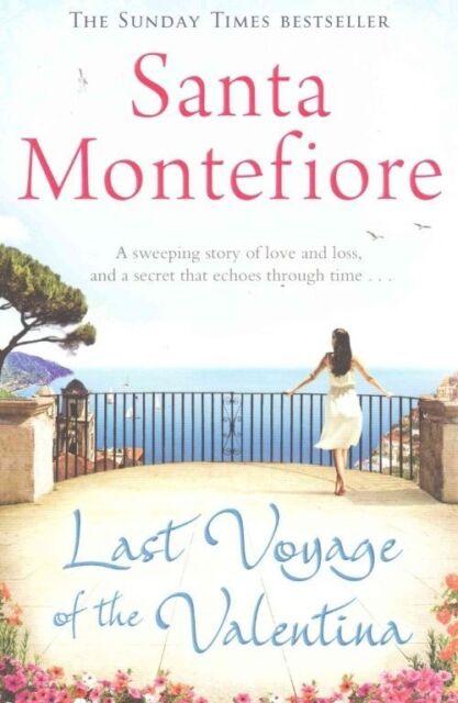 Last Voyage of the Valentina, Montefiore, Santa, Very Good Book