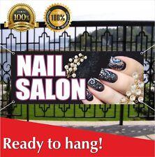 Nail Salon Banner Vinyl Mesh Banner Sign Beauty Salon Barber Shop