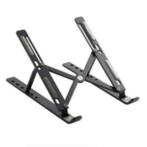 Adjustable-Foldable-Laptop-Notebook-PC-Desk-Table-Stand-Portable-Tray-Black