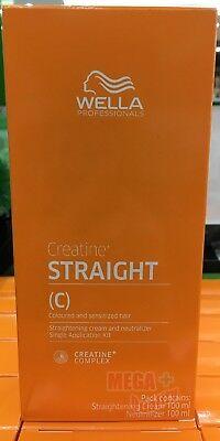 WELLA WELLASTRATE Permanent Straight System Hair Straightening Cream # MILD | eBay