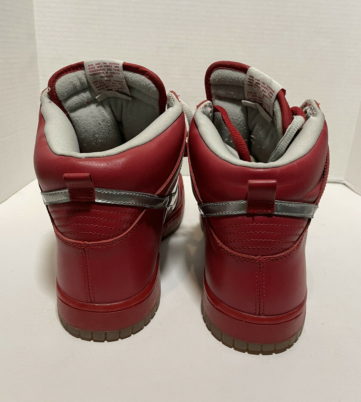 2006 Nike Mork And Mindy SB Dunk High Red/silver … - image 5