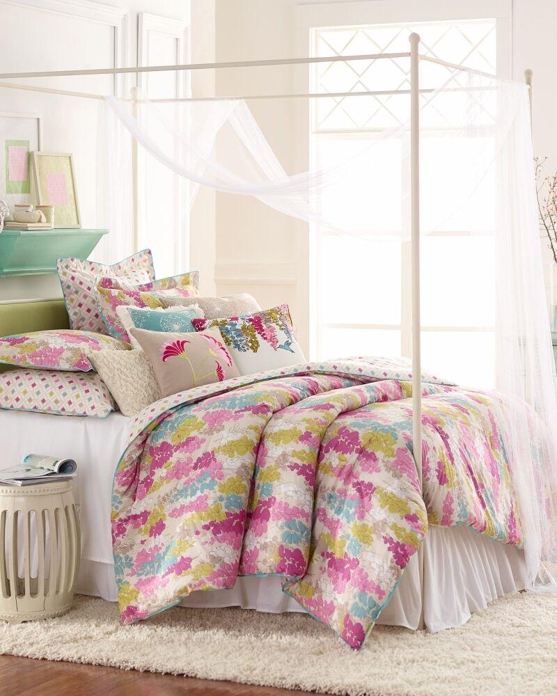 Watercolour Fairfield 250TC 100% Pure Cotton Sateen Duvet Cover Set