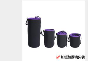 Lens-Case-Pouch-Bag-soft-velvet-cover-for-Canon-Nikon-Sony-D-SLR-SLR-camera