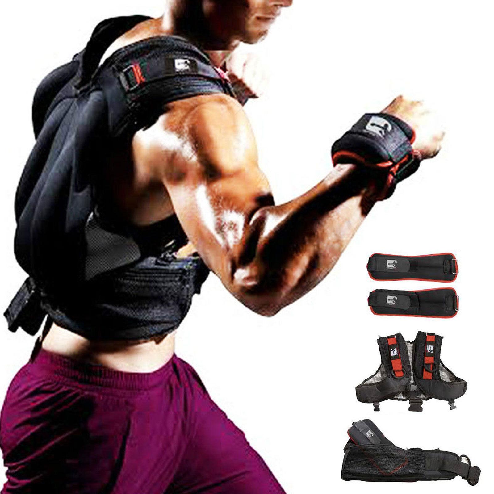 Beschwert Weste Cross Training Knöchel   Handgelenk Gewichte Sporthalle Stärke