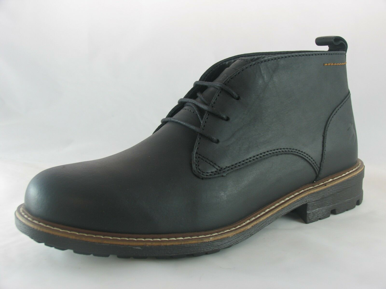 brakeburn bottines chucka botte les bottines brakeburn en cuir marron noir / 98211e