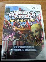 Wonder World Amusement Park (nintendo Wii, 2008) Brand Sealed